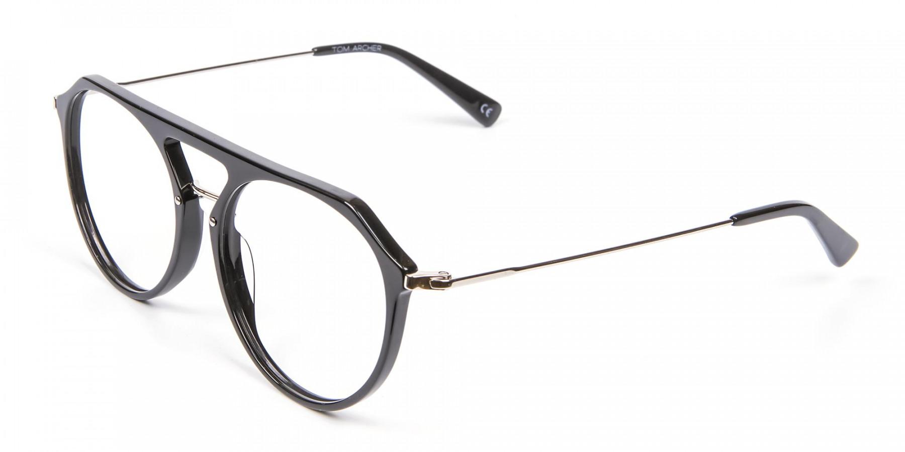 Hybrid Designer Glasses in Round and Angles -1