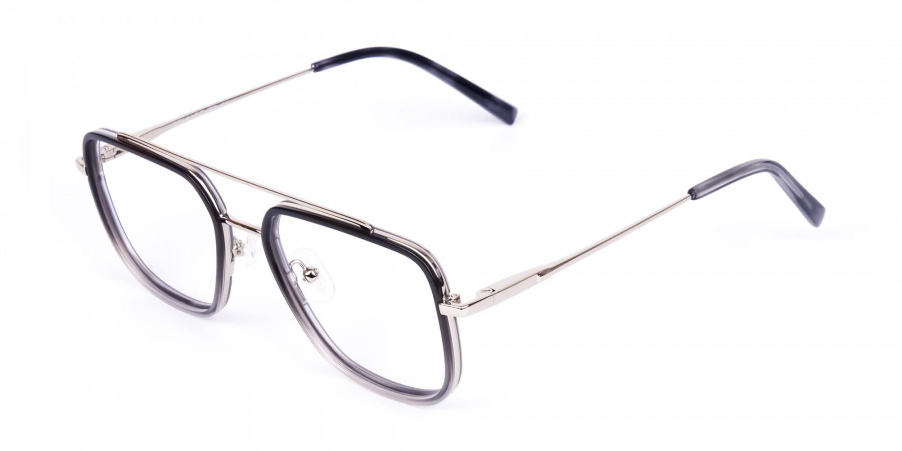 Black-and-Grey-Aviator-Glasses-1