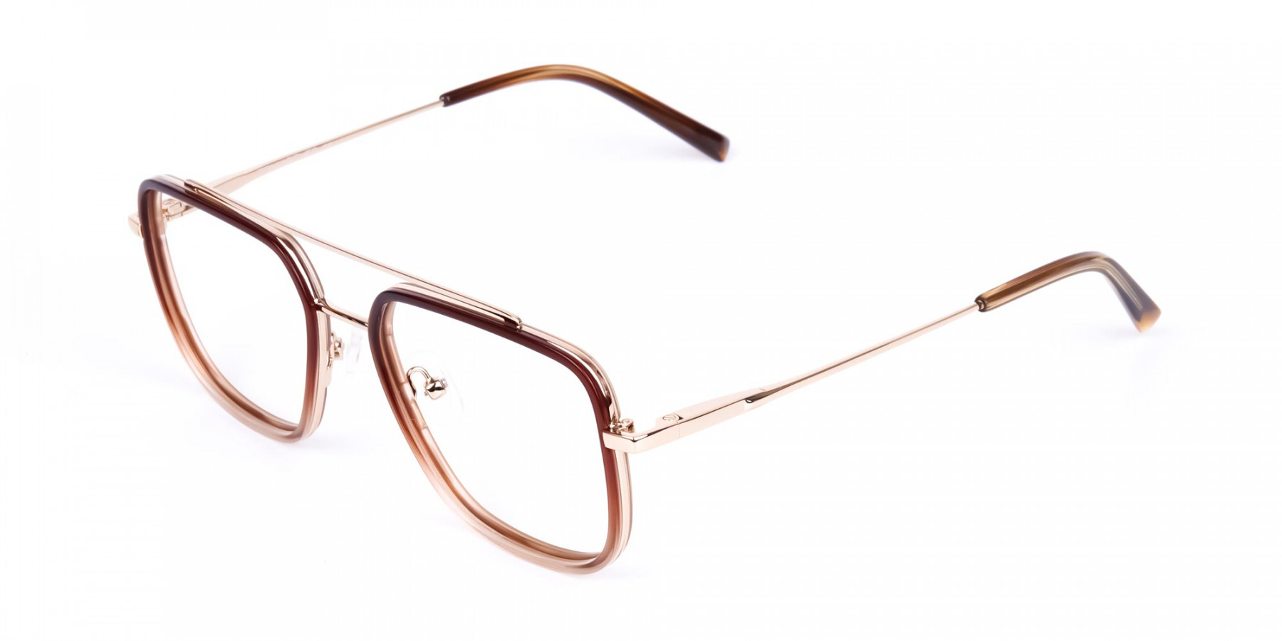 Brown-and-Gold-Aviator-Glasses-1