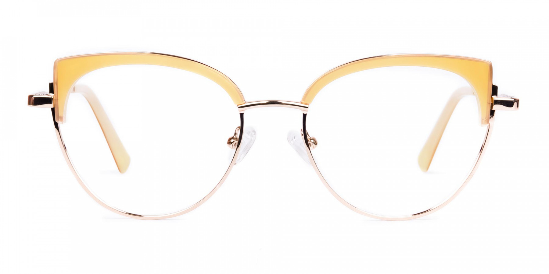 rose gold blue light glasses-1