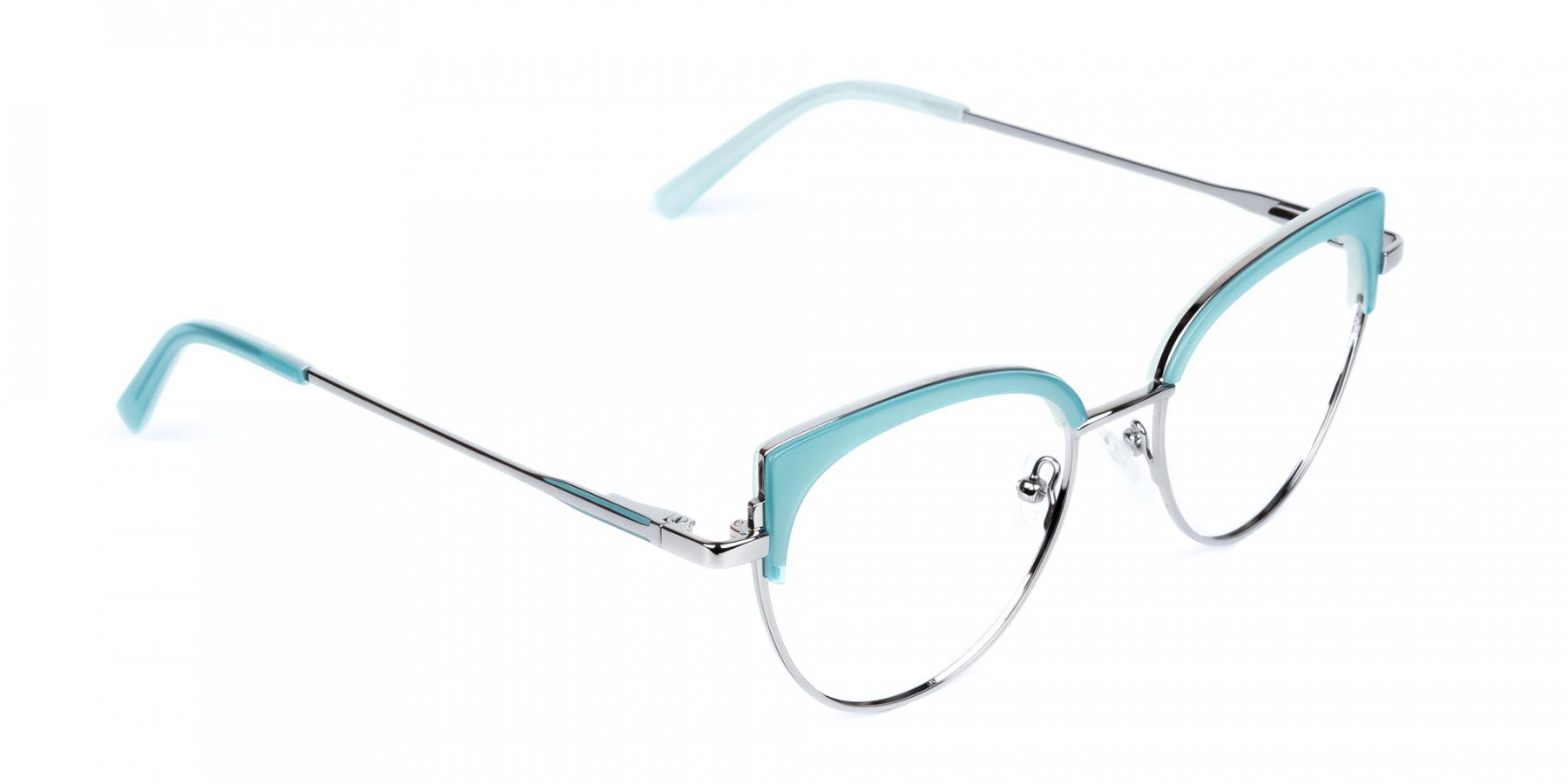 Blue-and-Silver-Cat-Eye-Glasses-Frame-1