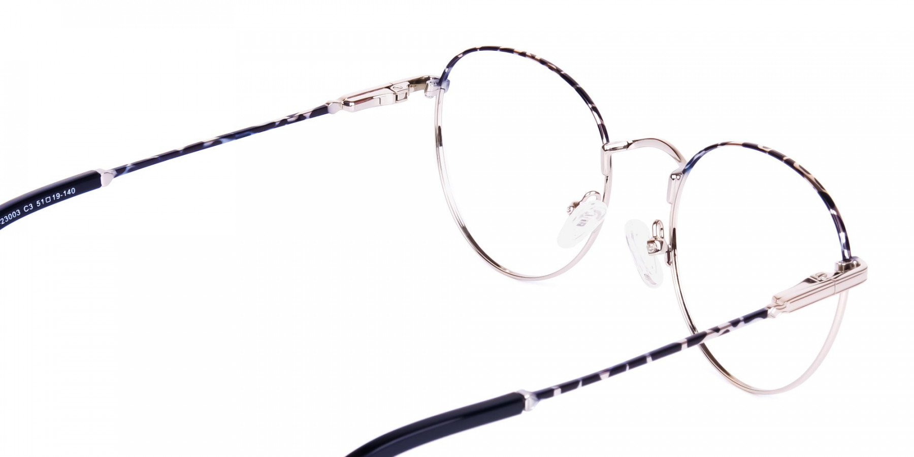 Silver-and-Marble-Tortoise-Shell-Round-Glasses-1