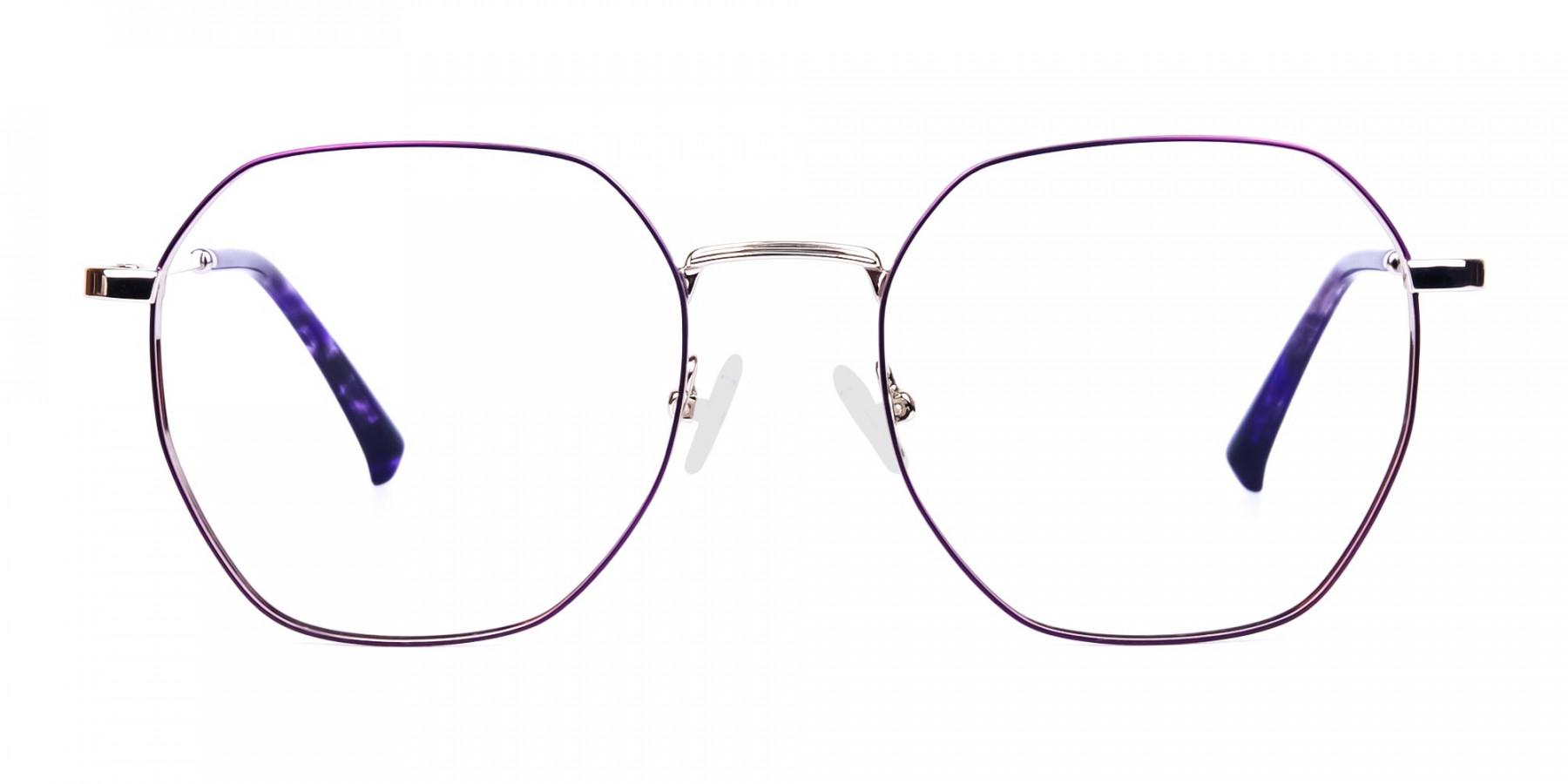 Dark-Violet-and-Silver-Geometric-Glasses-1
