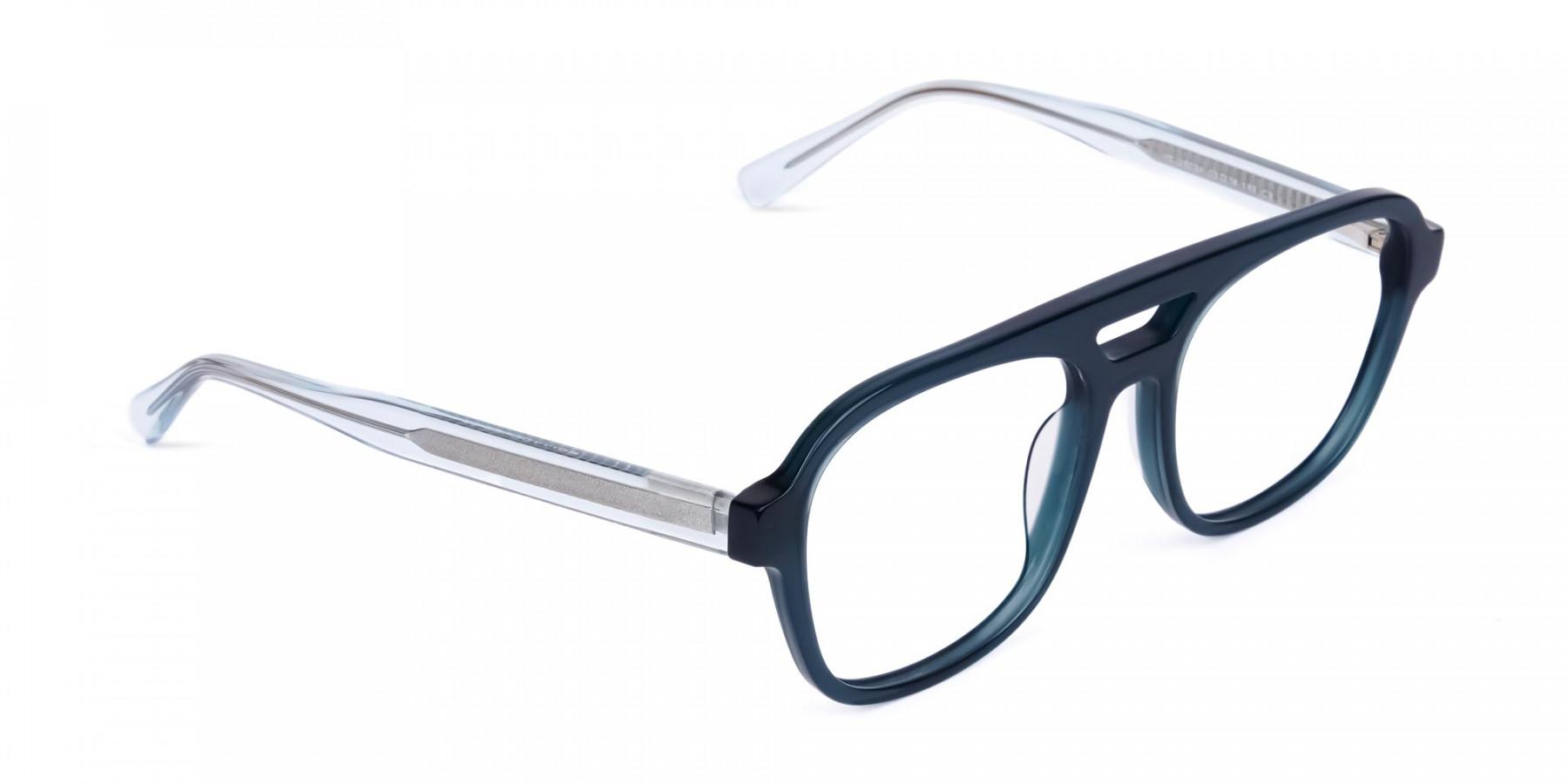 Dark-Green-Aviator-Glasses-1