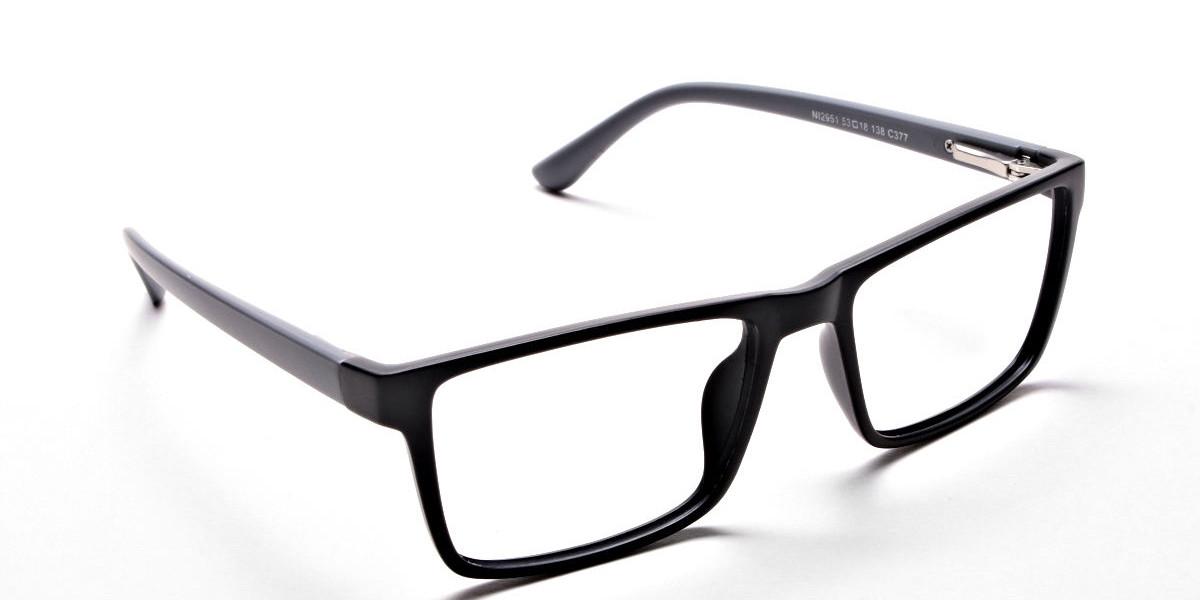 Black & Grey Glasses & Frames