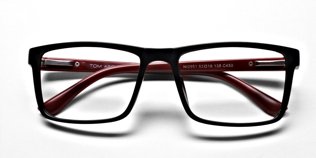 Black & Red Glasses