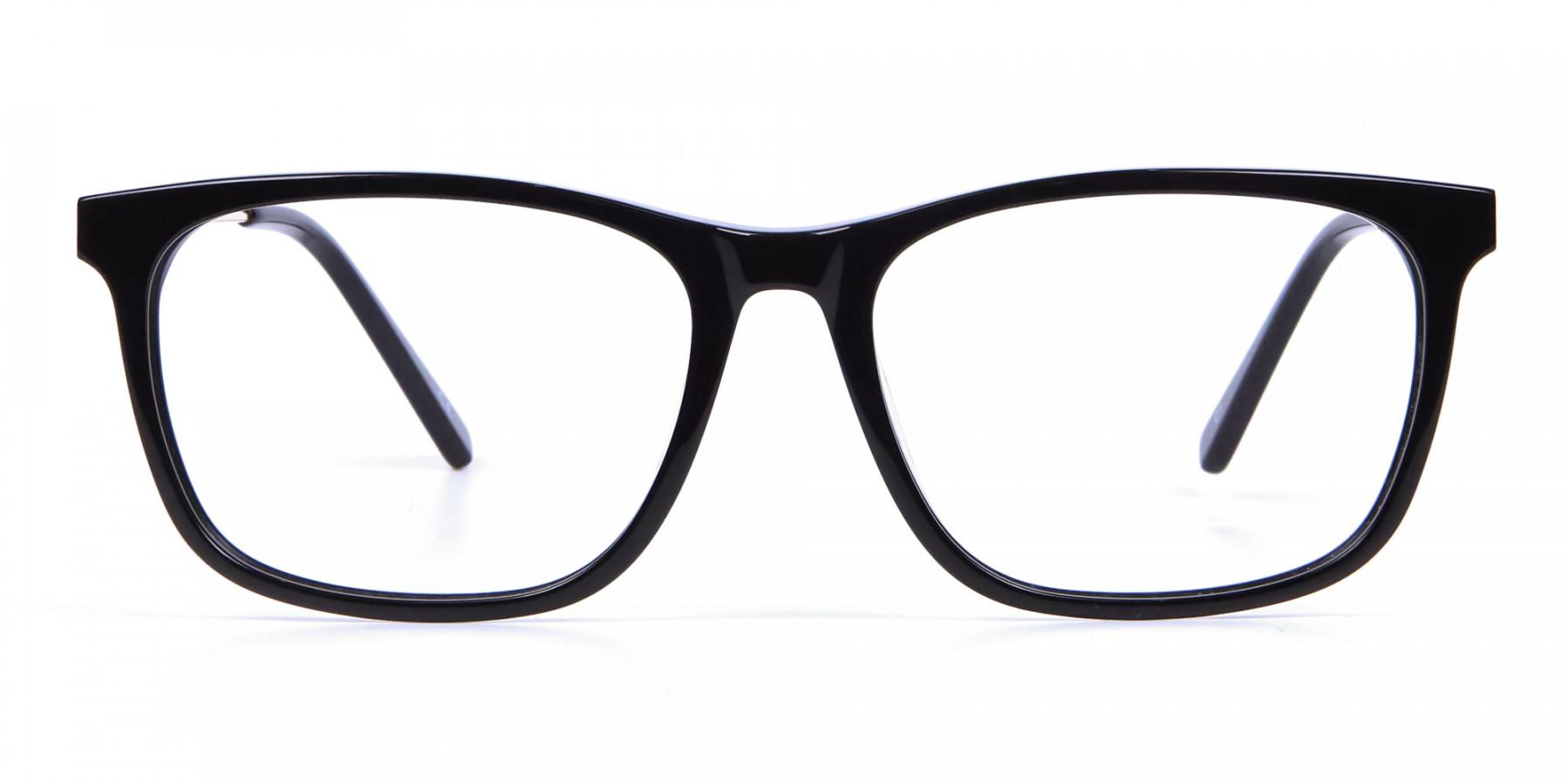 Mixed-Material Rectangular Glasses