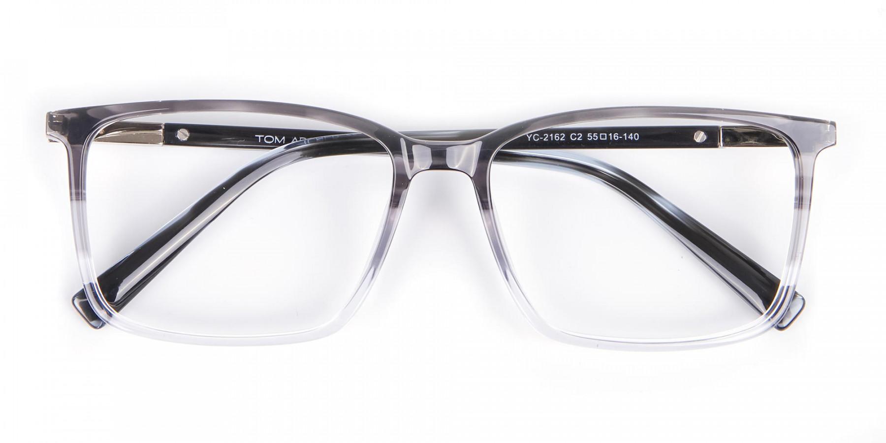 Latest Design Rectangular Frame in Two-Tone Grey - 1