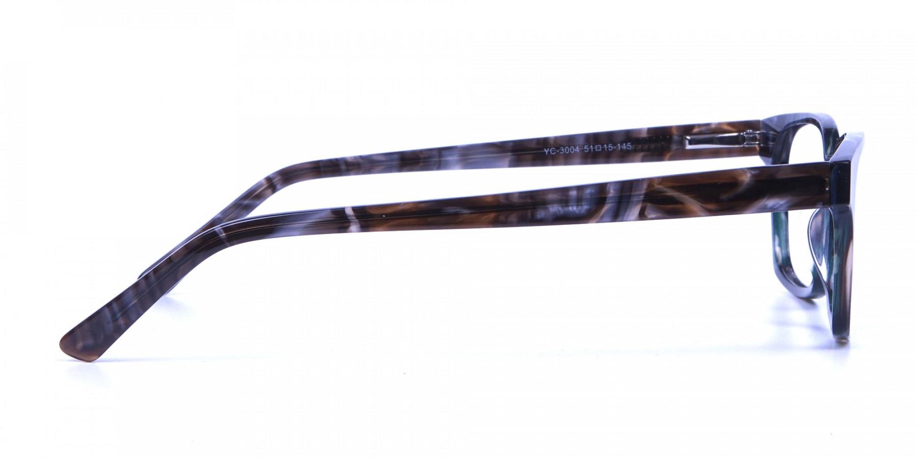 Marble Hunter Green Frames
