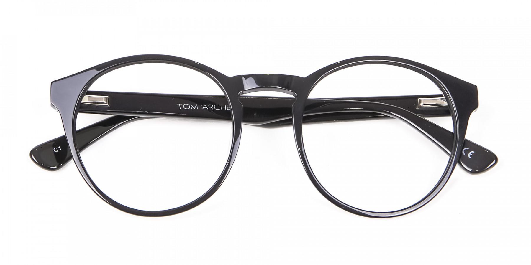 Smooth Dark Quality Eyeglasses