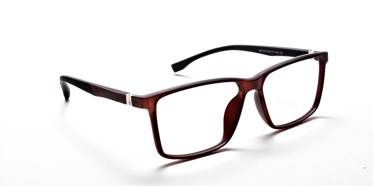 Brown Matte Glasses