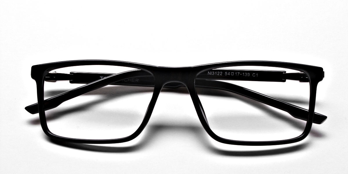 Handmade Black Glasses