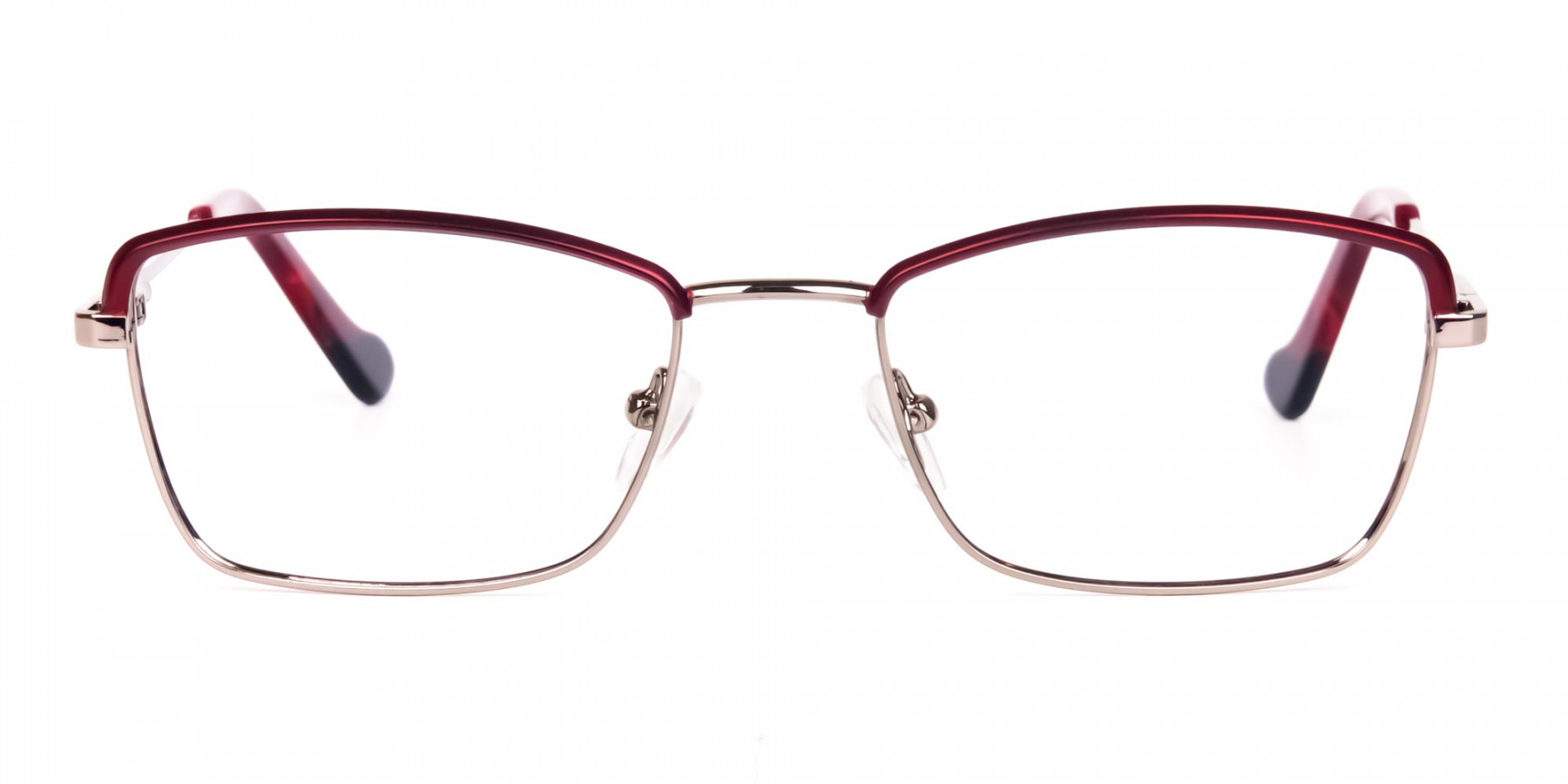 blue light glasses metal frame-1