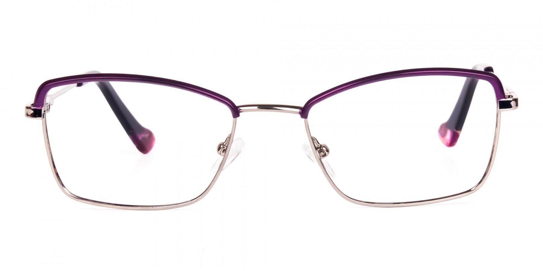 square blue light glasses-1