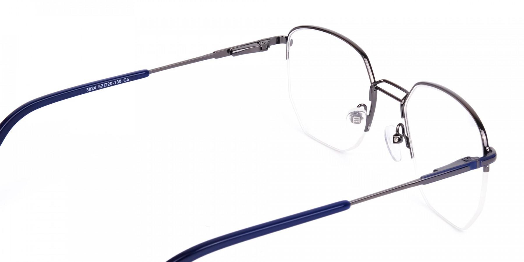 Navy-Blue-Gunmetal-Geometric-Aviator-Glasses-1