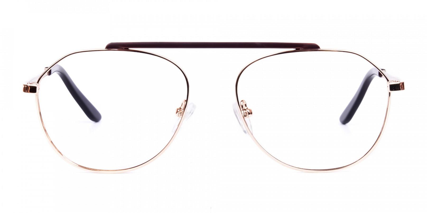 Brown-Gold-Aviator-Glasses-1