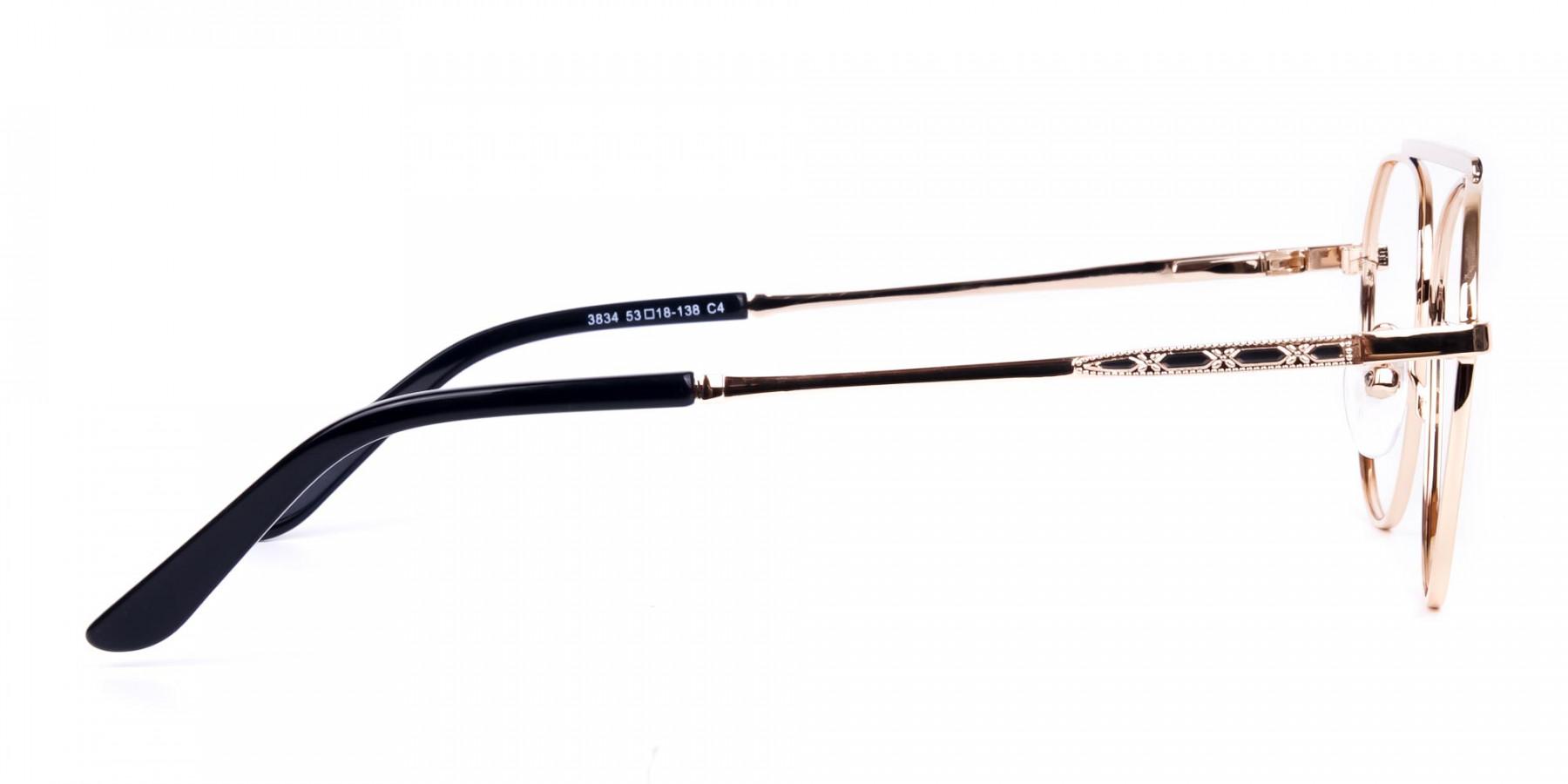 Black-and-Gold-Aviator-Glasses-1