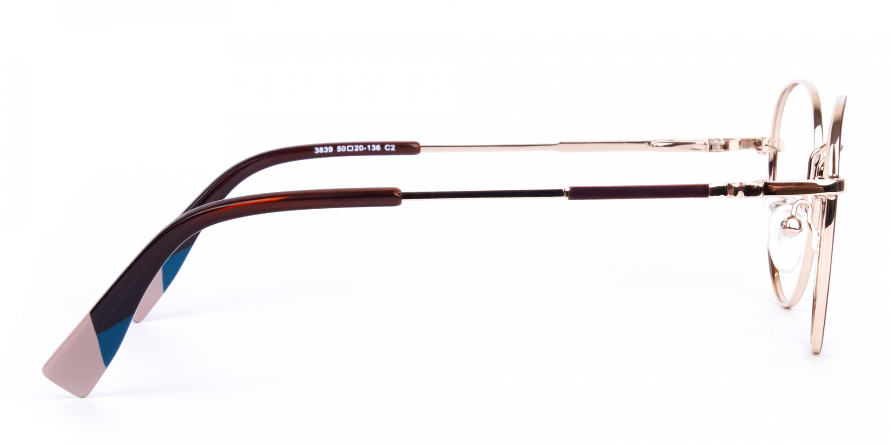 Brown-and-Gold-Round-Glasses-1
