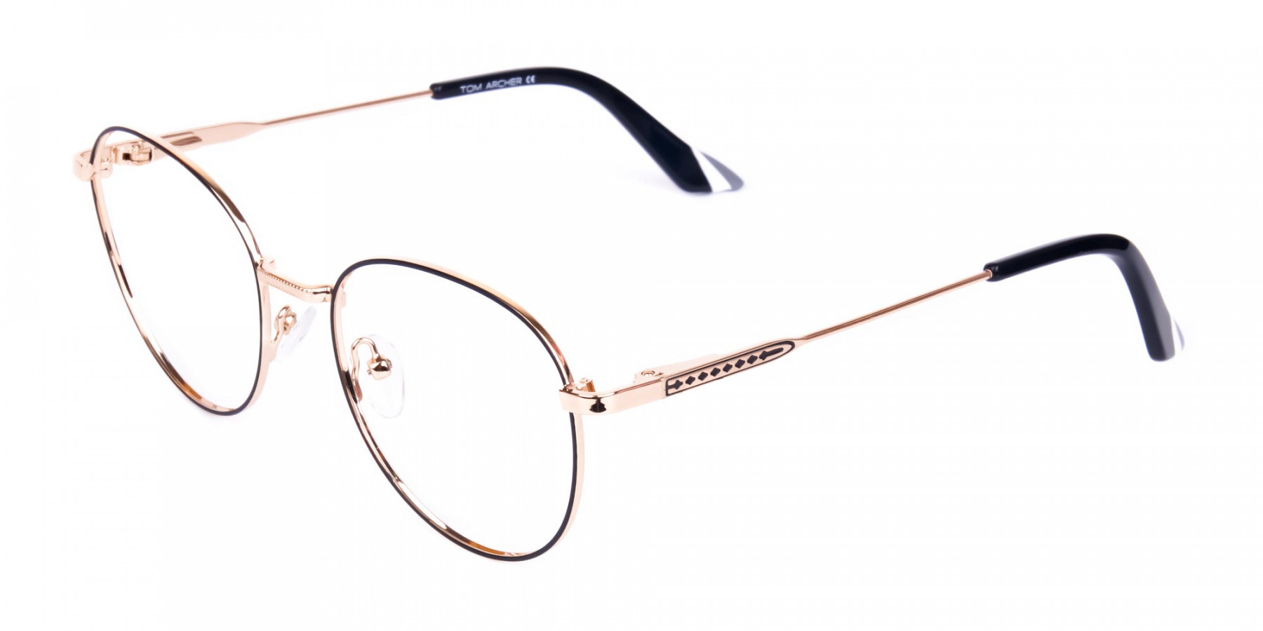 Black-and-Gold-Round-Glasses-1