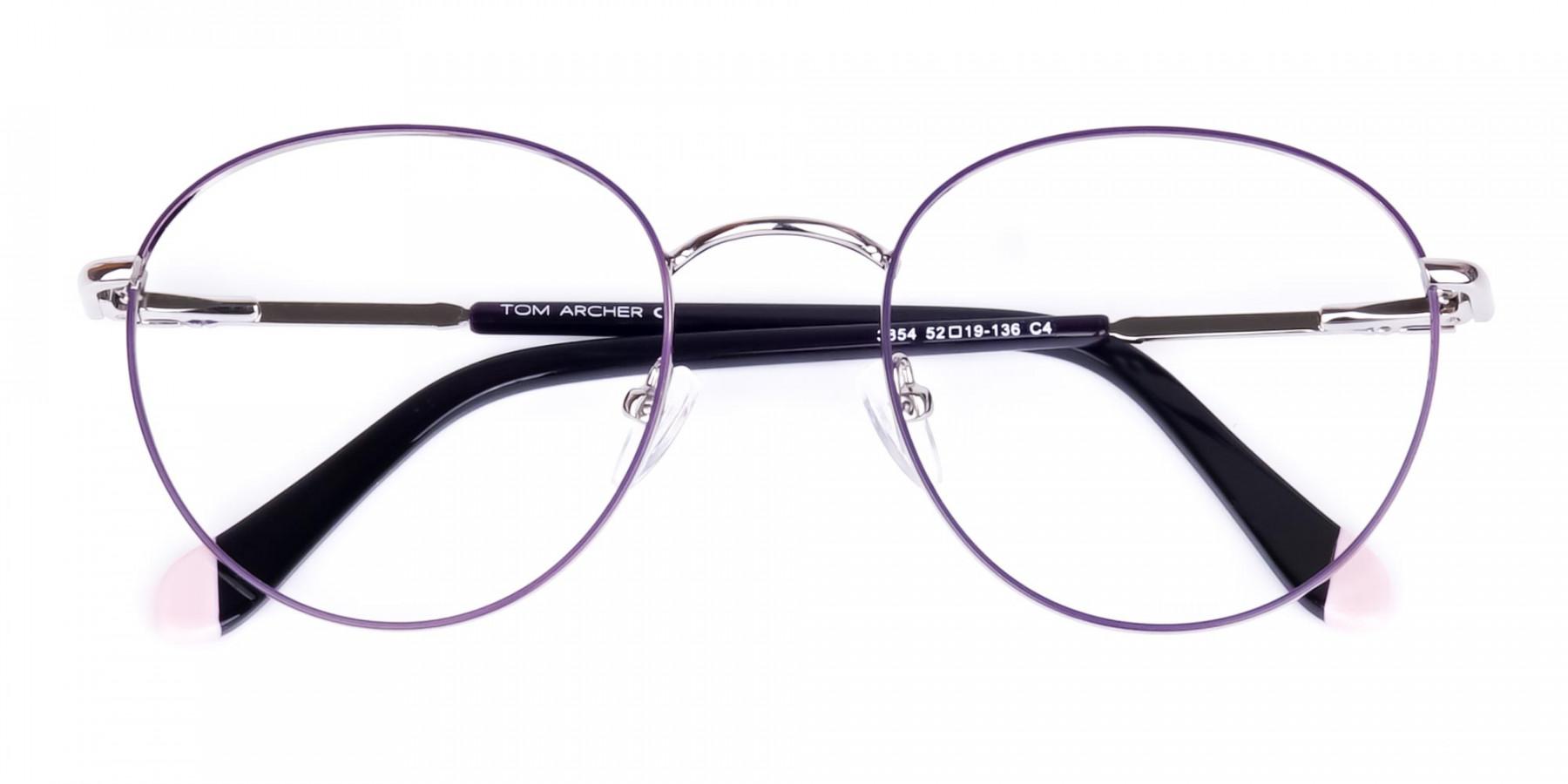 Dark-Purple-and-Silver-Round-Glasses-1