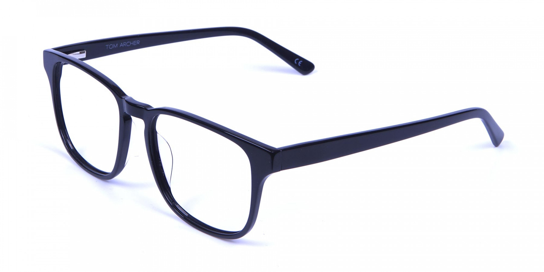 Stylish Black Rectangular Frames