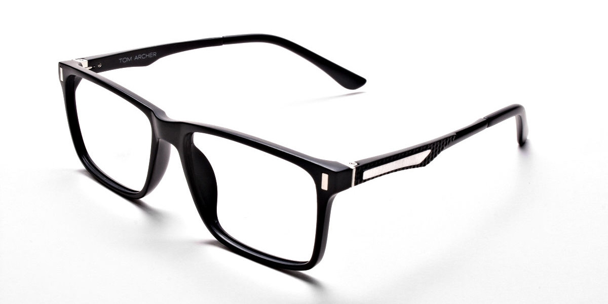 Create a Good Impression with Mattle Black Glasses