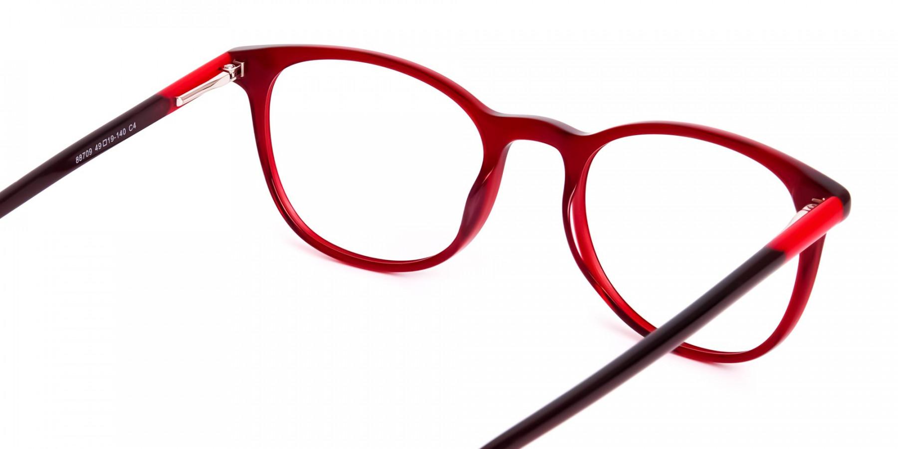 Wine-Red-Translucent-Round-Glasses-Frames-1