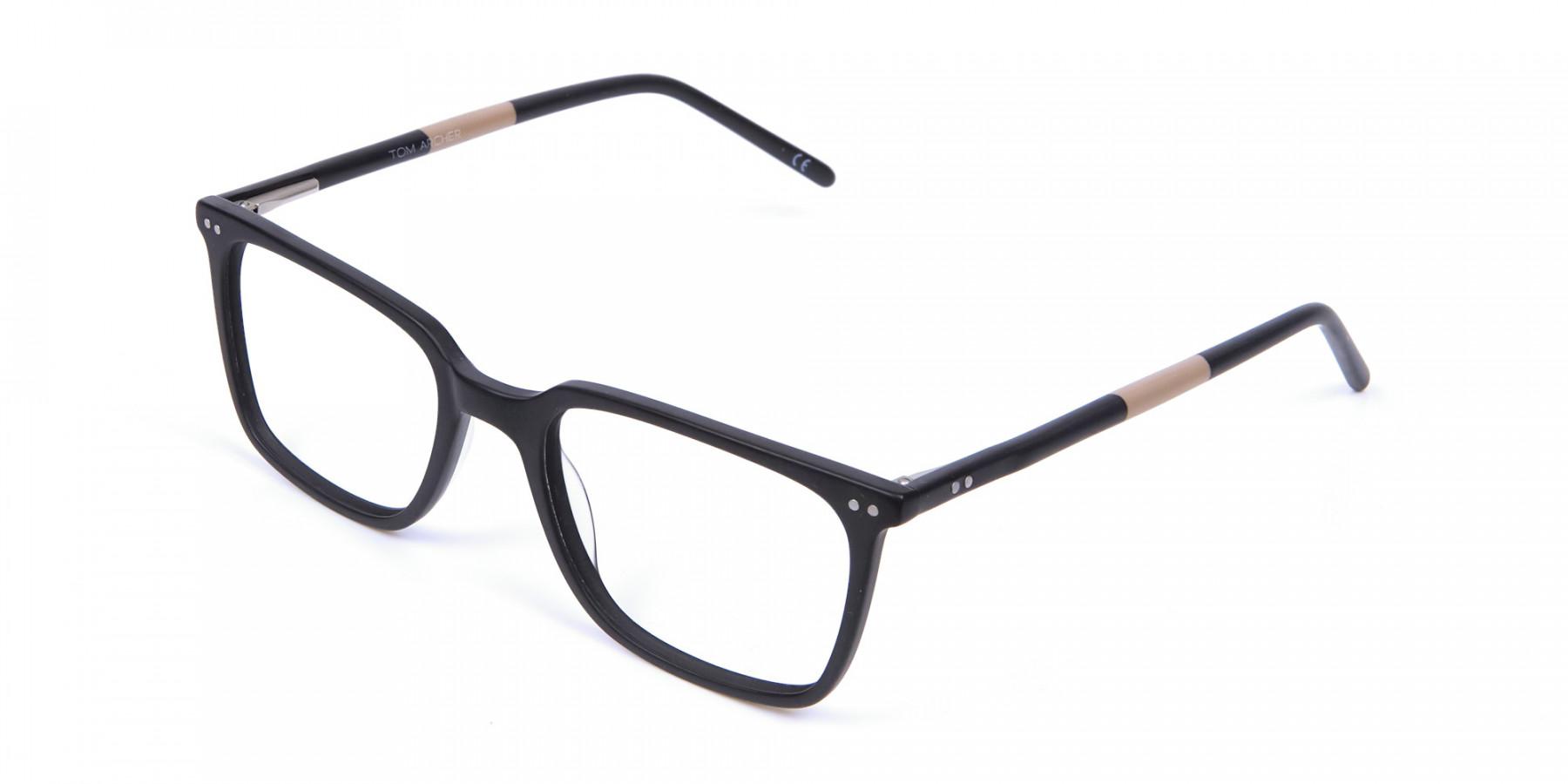 Black and Brown Pepper Eyeglasses
