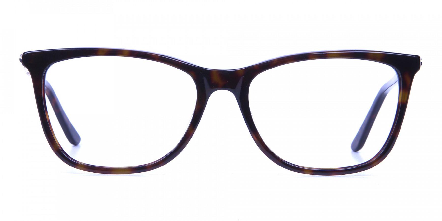 Tortoiseshell Glasses of Personality Look