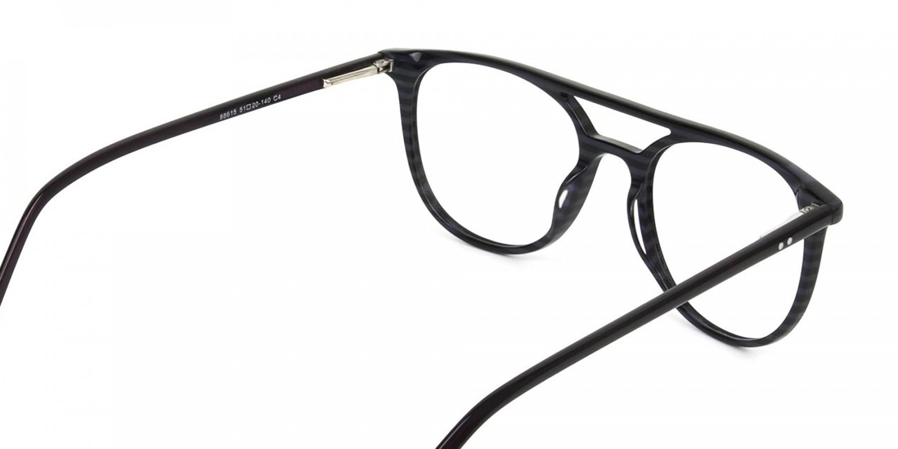 Violet Purple  & Rose Red Aviator Spectacles - 1