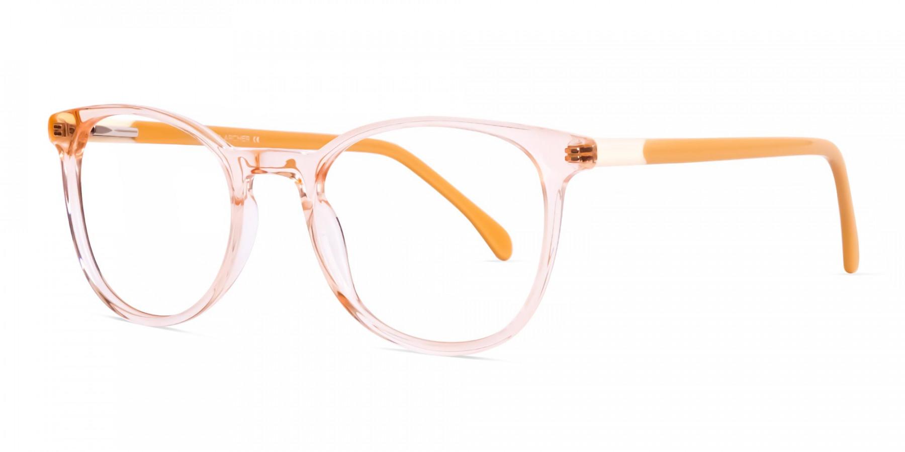 transparent-orange-Color-Round-Glasses-Frames-1