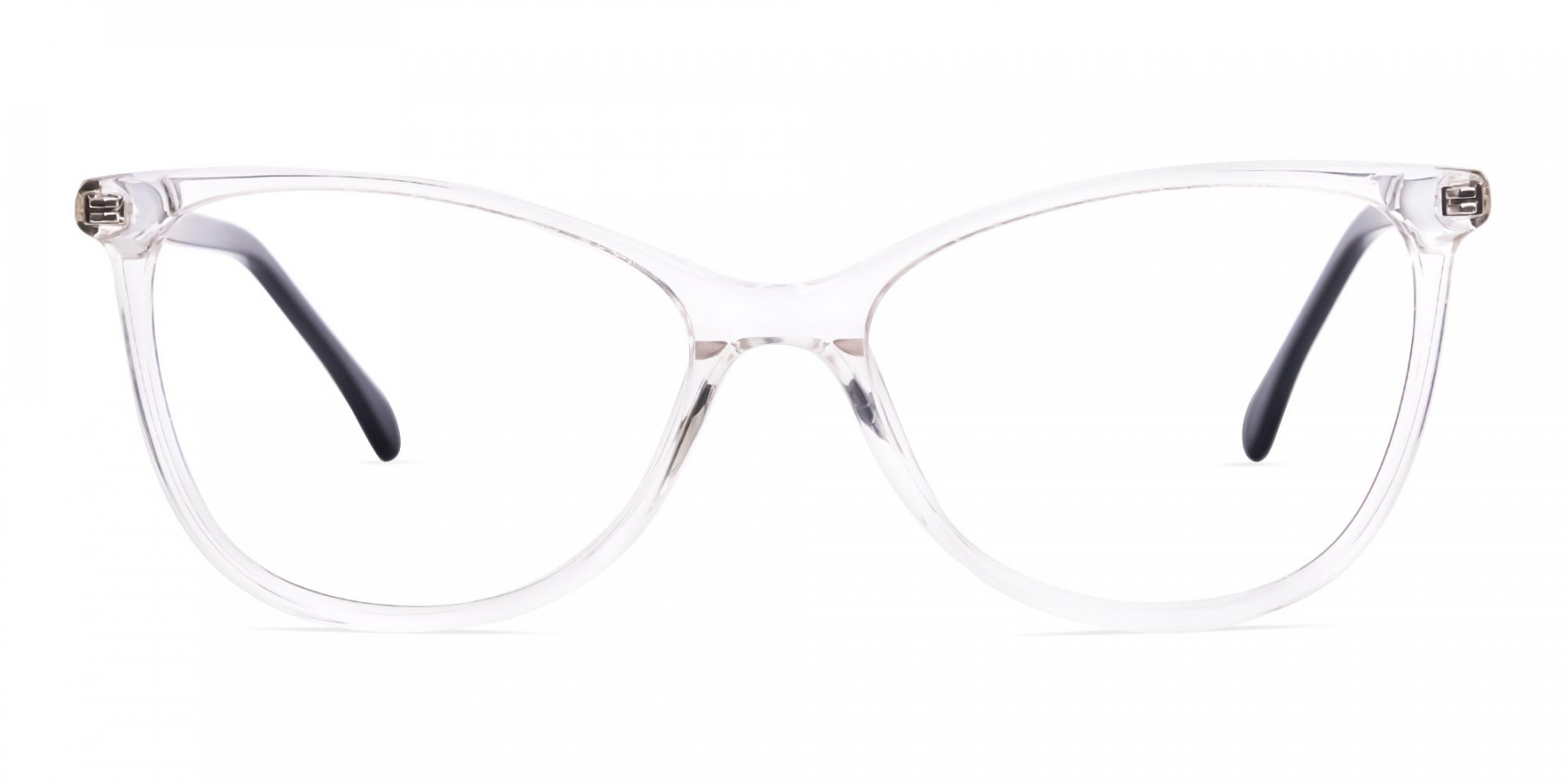Crystal-Clear-Transparent-Cat eye-Glasses-Frames-1