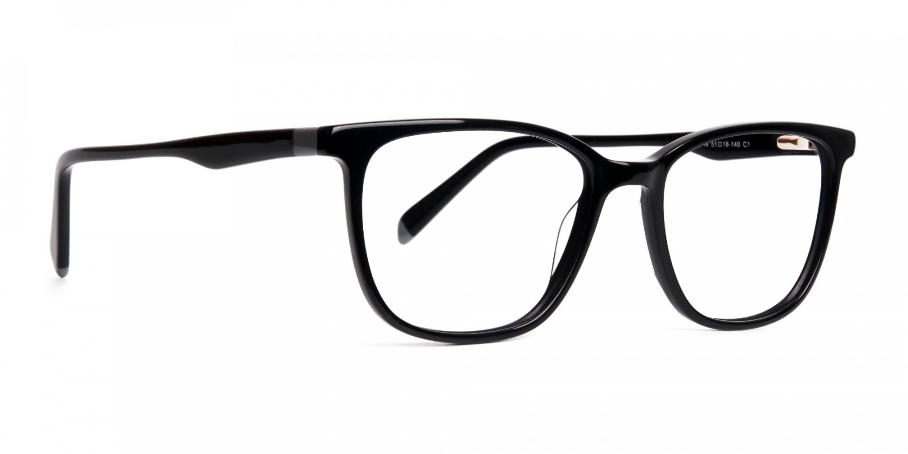 New-shiny-and-glossy-Black-Wayfarer-and-Rectangular-Glasses-Frames-1