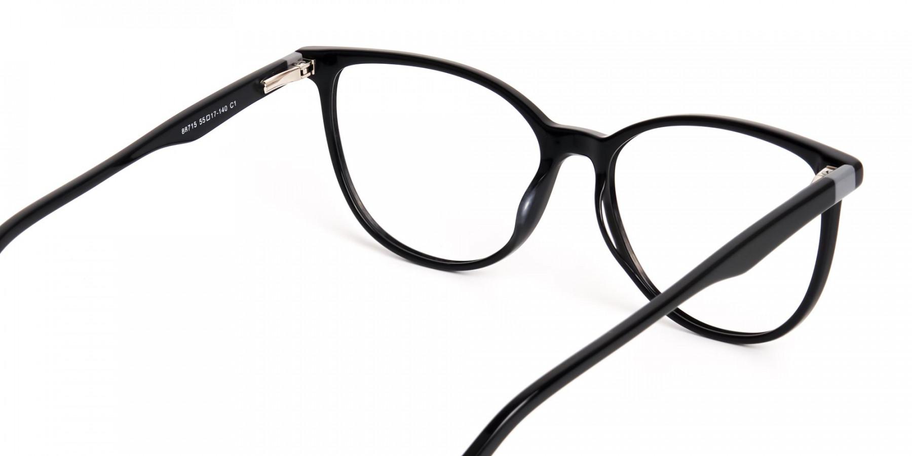 Glossy-Black-Cat-eye-Glasses-Frames-1