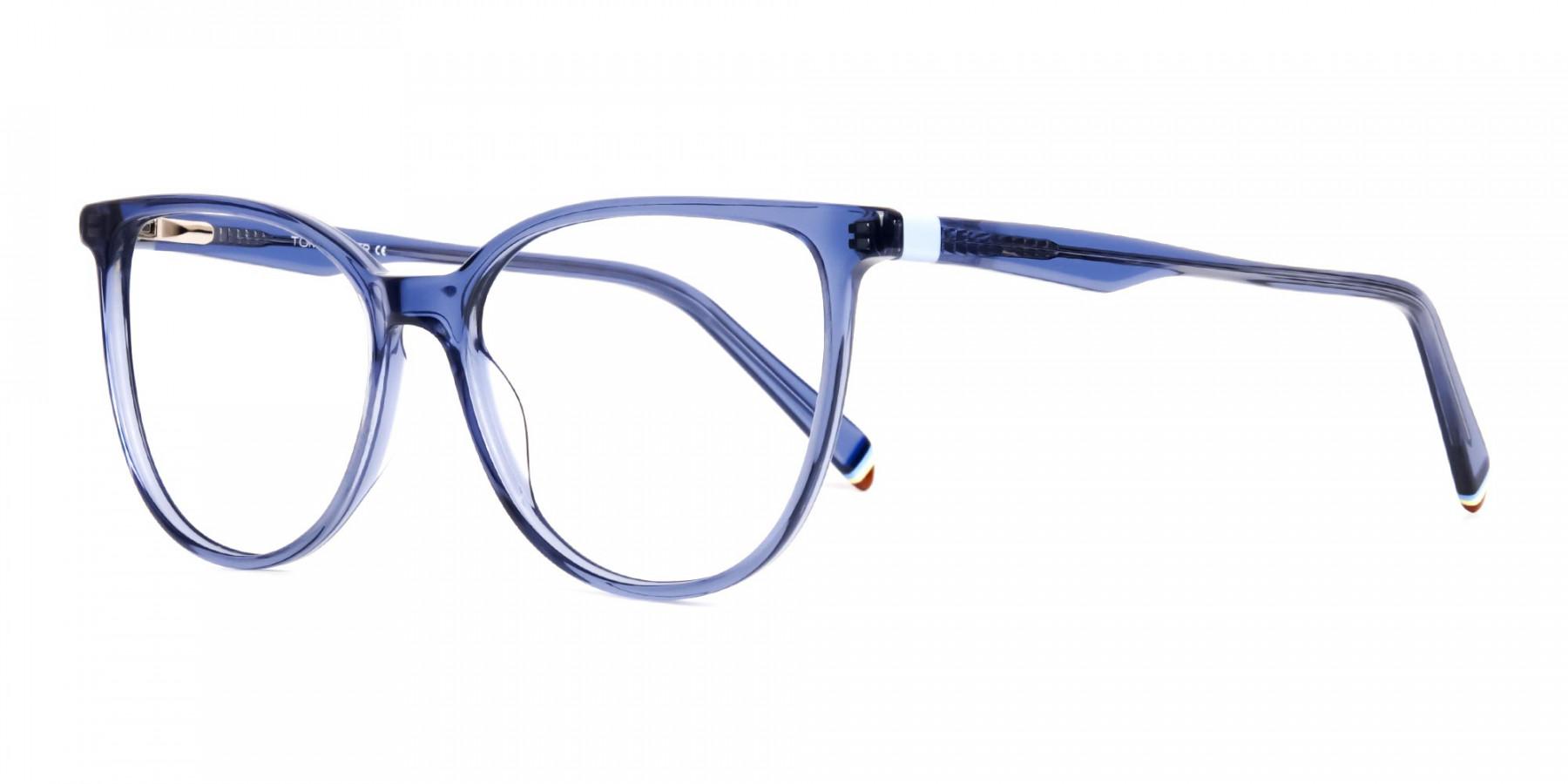 Blue-Transparent-Cat-eye-Glasses-Frames-1