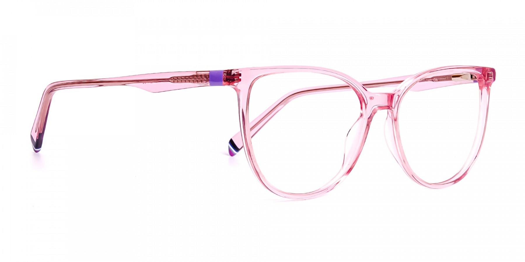 Crystal-Pink-transparent-Cat-eye-Glasses-Frames-1