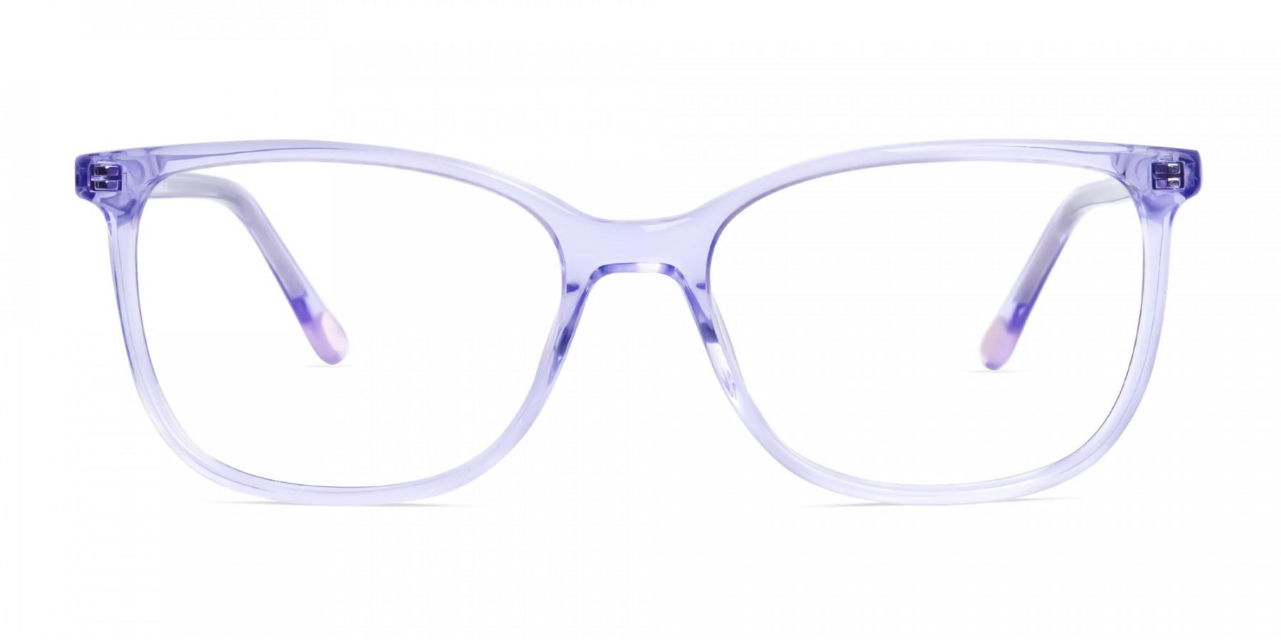 transparent-and-crystal-clear-purple-wayfarer-cateye-glasses-frames-1
