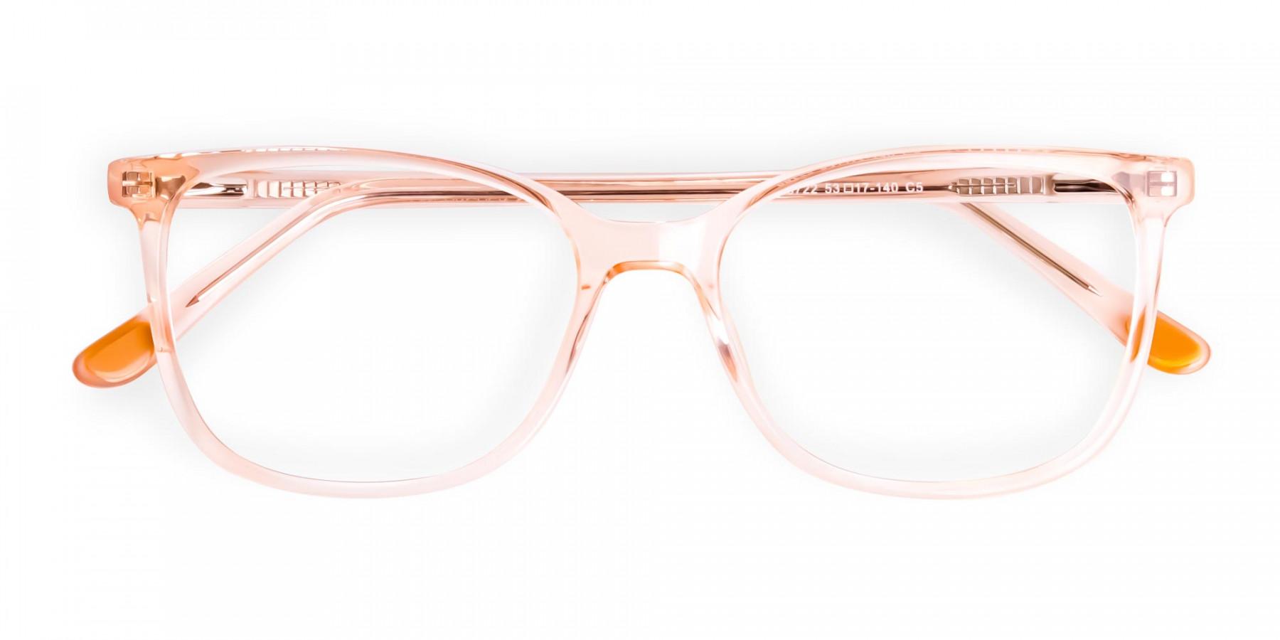 crystal-clear-and-transparent-tinted-orange-wayfarer-cat-eye-glasses-frames-1