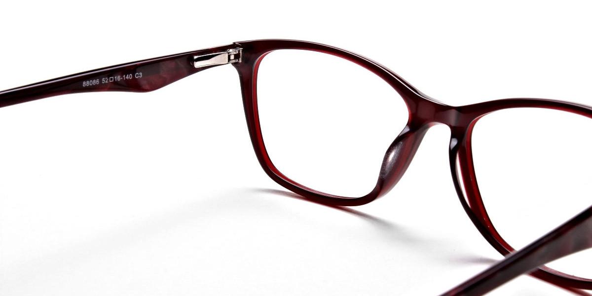 Red Retro Glasses