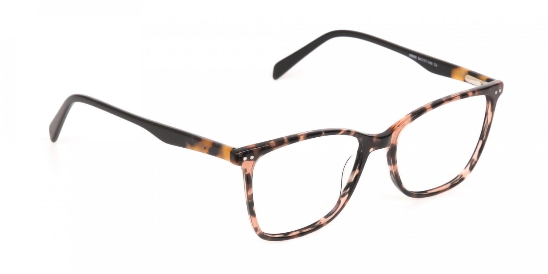 Designer Tortoiseshell Eyeglasses For Women-1