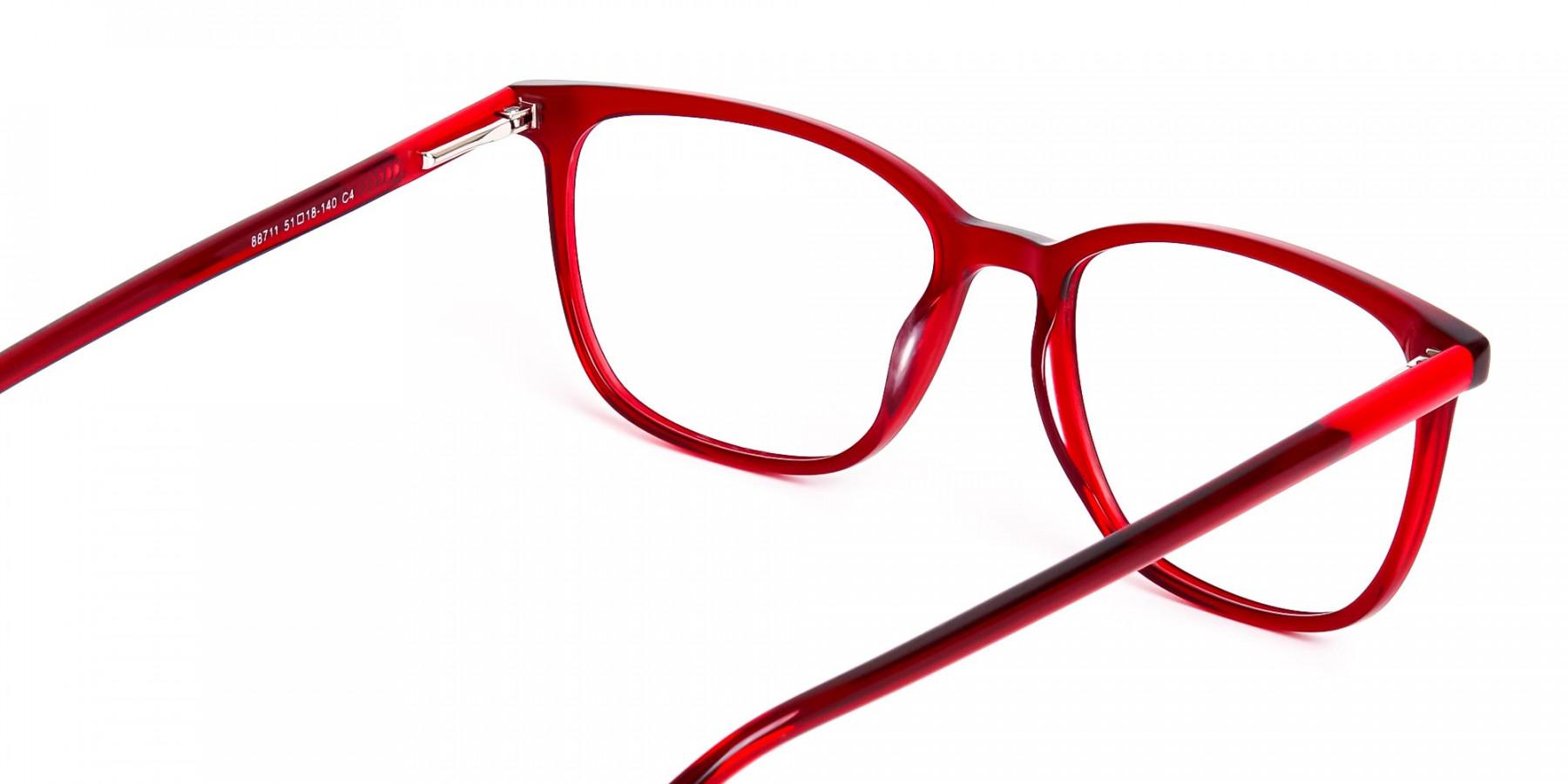 Wine-Red-Wayfarer-and-Rectangular-Glasses-Frames-1