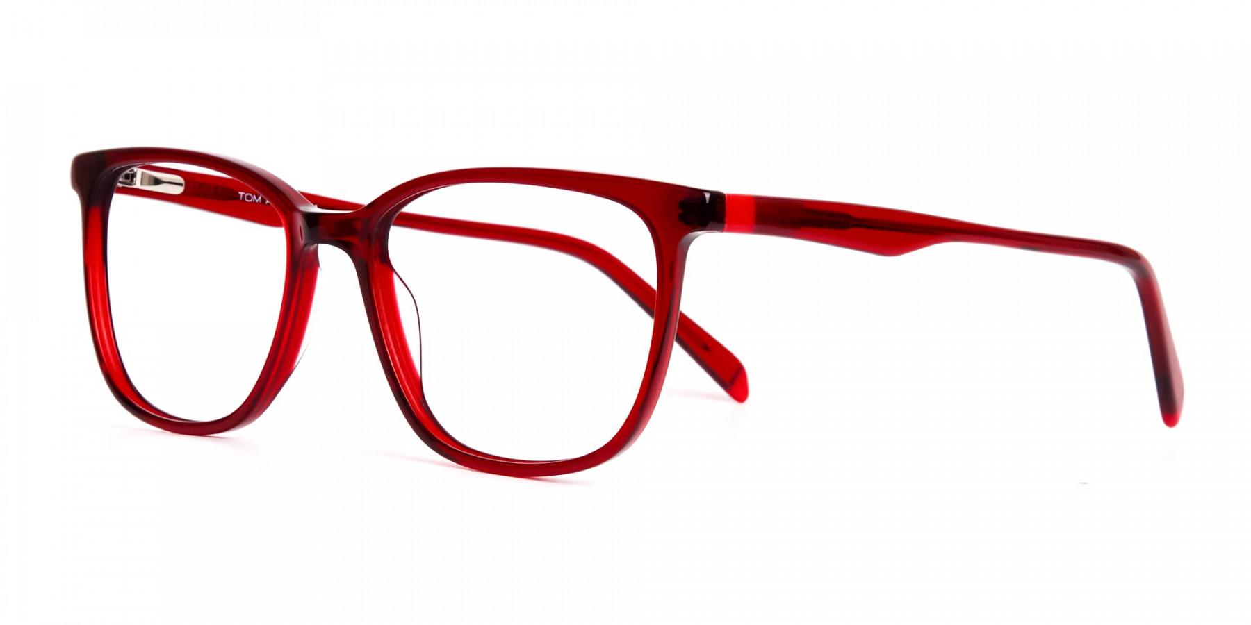 Dark-Red-Wayfarer-and-Rectangular-Glasses-Frames-1