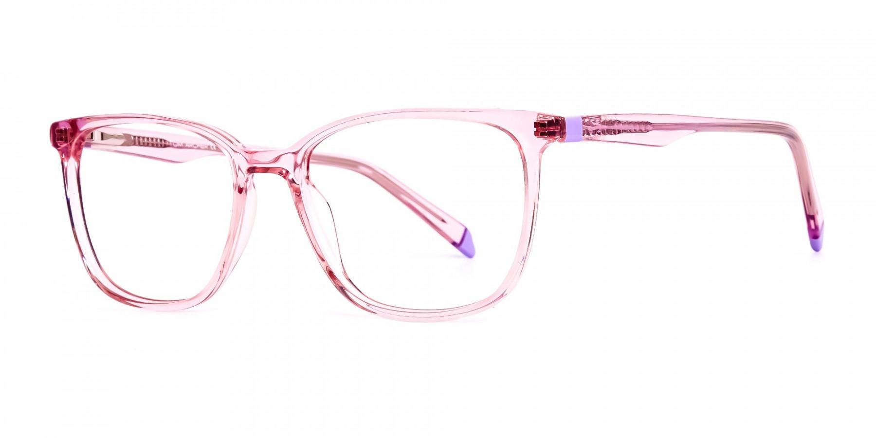 Crystal-pink-Wayfarer-and-Rectangular-Glasses-Frames-1