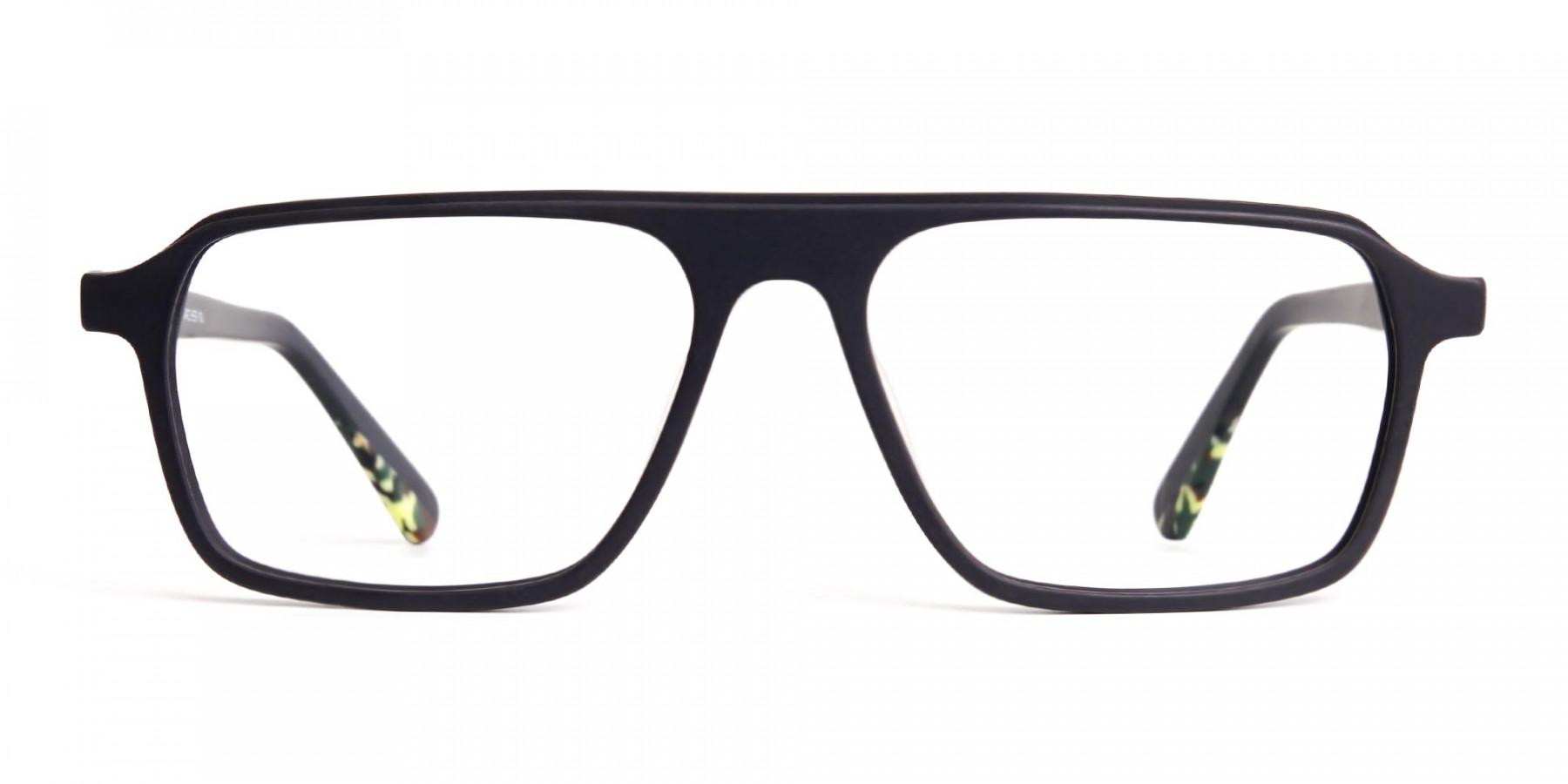Matte-Grey-Rectangular-Full-Rim-Glasses-frames-1