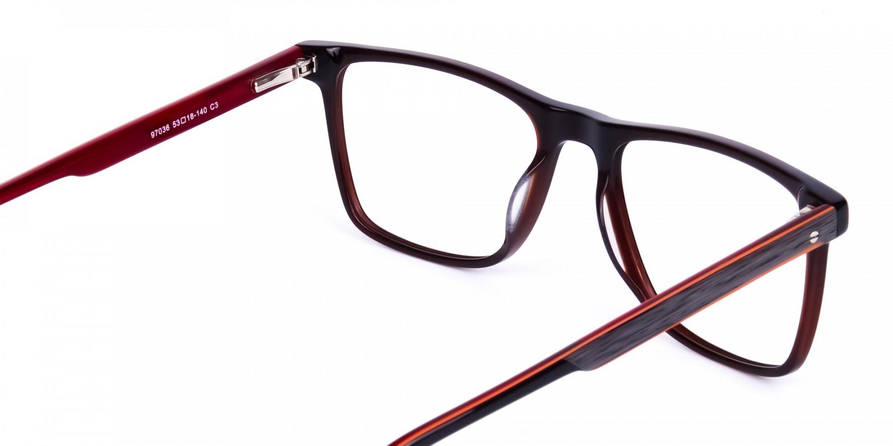 Dark-Brown-Rimmed-Rectangular-Glasses-1