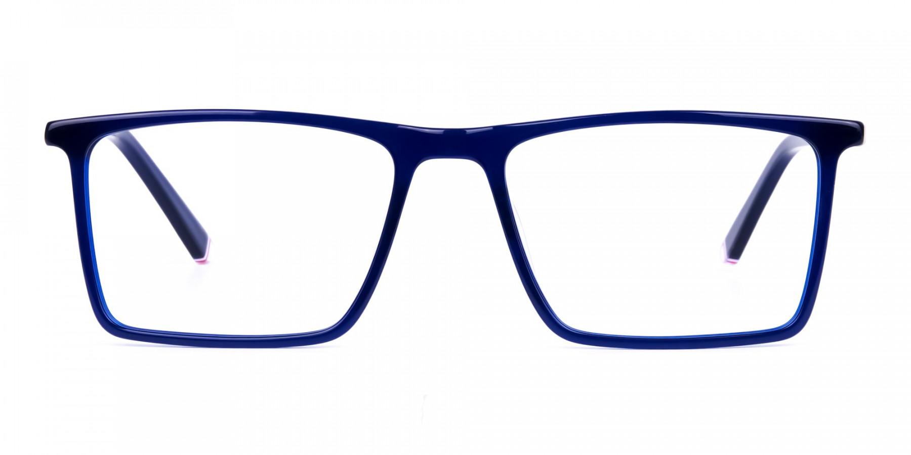 Navy-Blue-Fully-Rimmed-Rectangular-Glasses-1