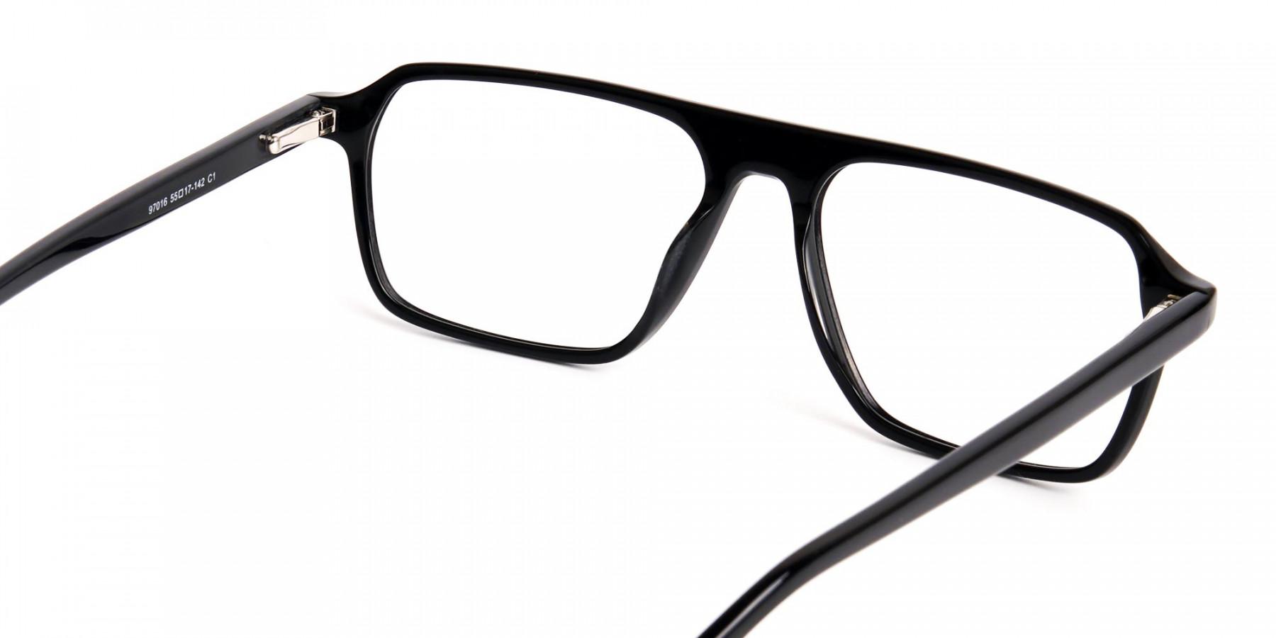 Dark-Black-Rectangular-Full-Rim-Glasses-frames-1