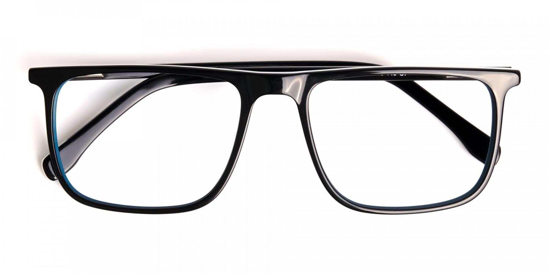 black-and-teal-full-rim-rectangular-glasses-frames-1