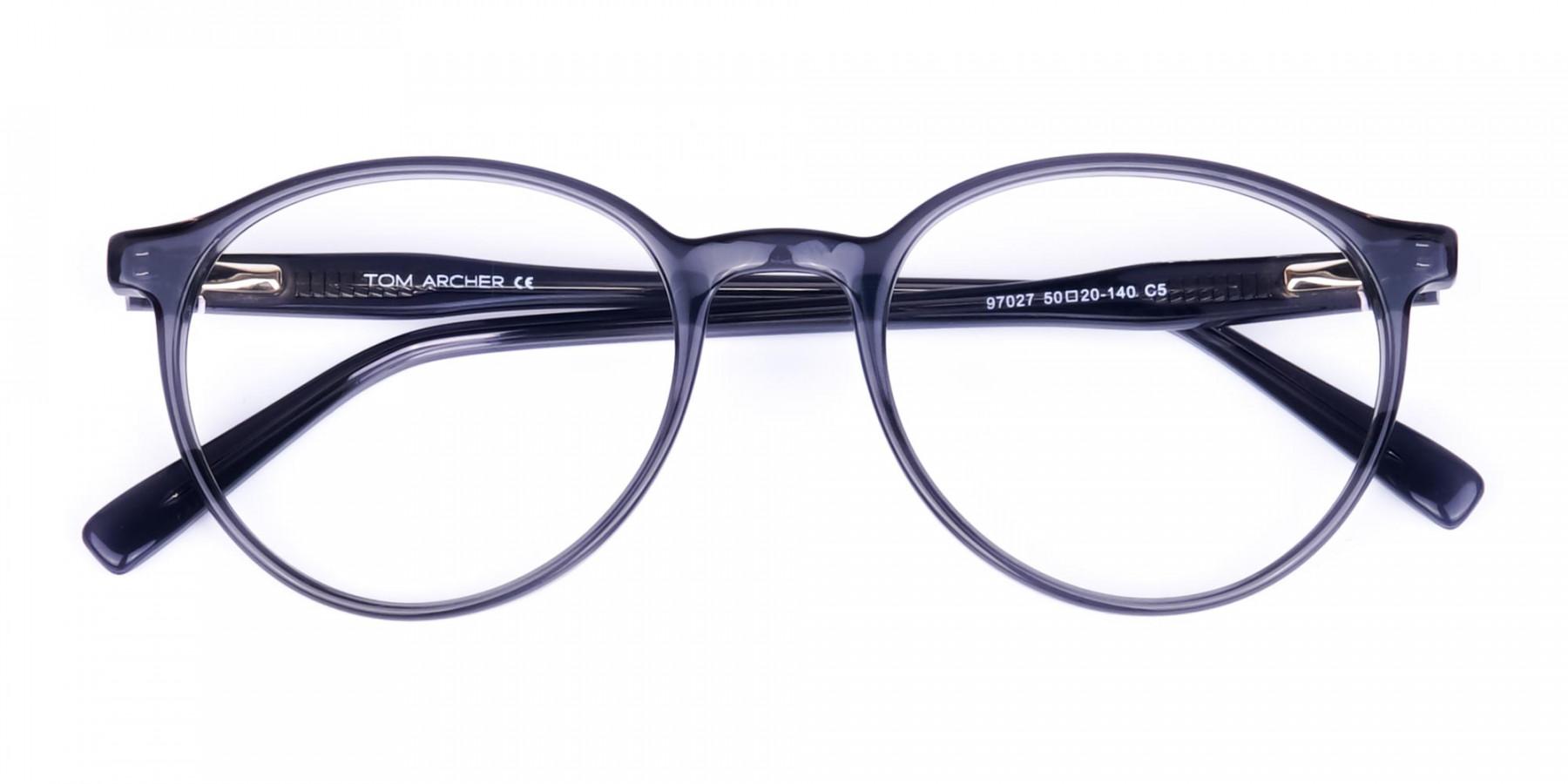 circle blue light glasses-1