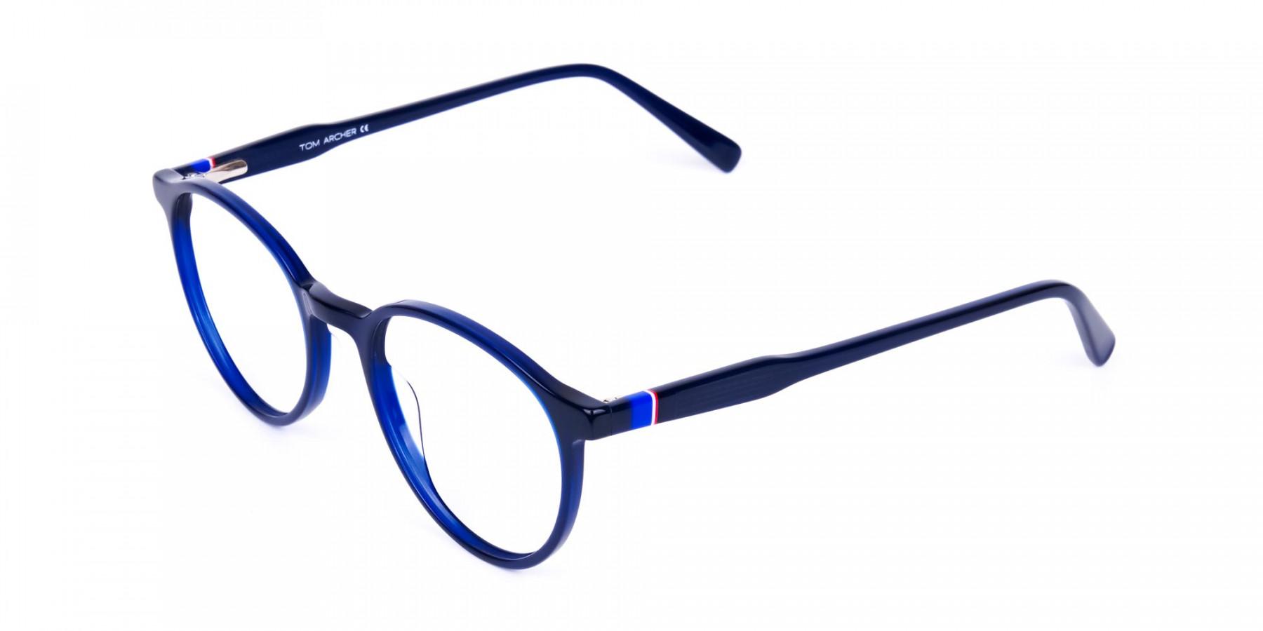 circular blue light glasses-1